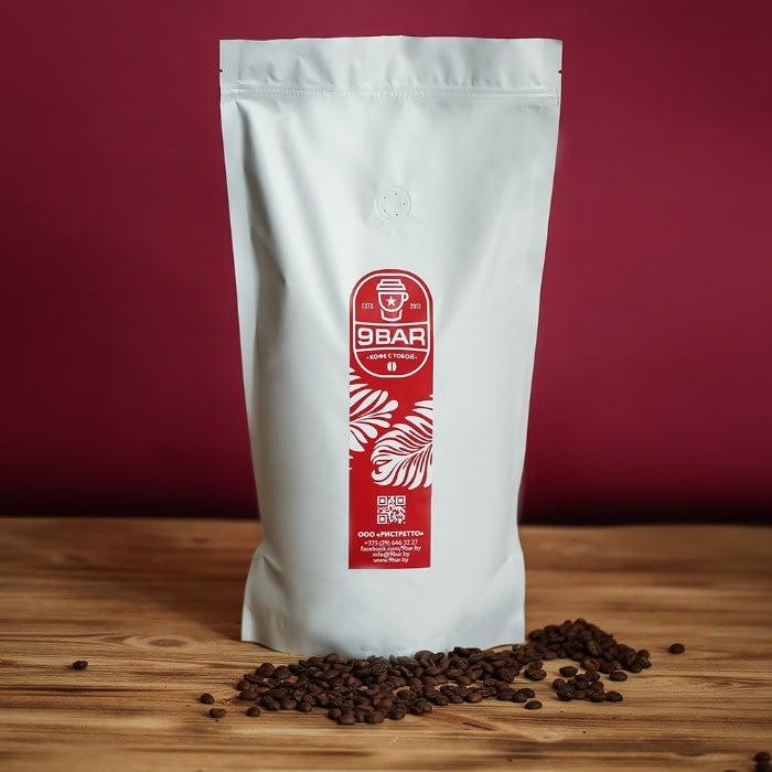 Купить зерновой кофе 9BAR Premium в Минске