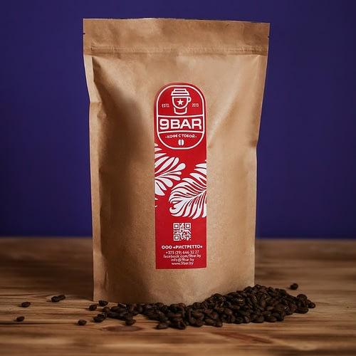 Свежеобжаренный кофе 9BAR Arabica в Минске